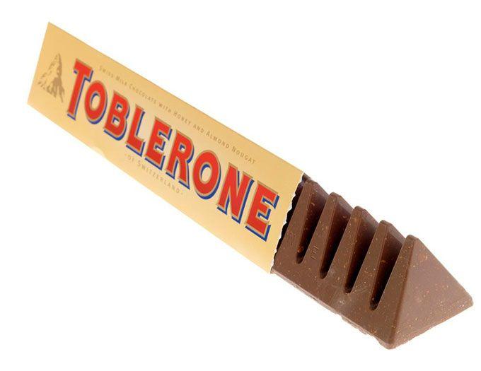 Toblerone молочный