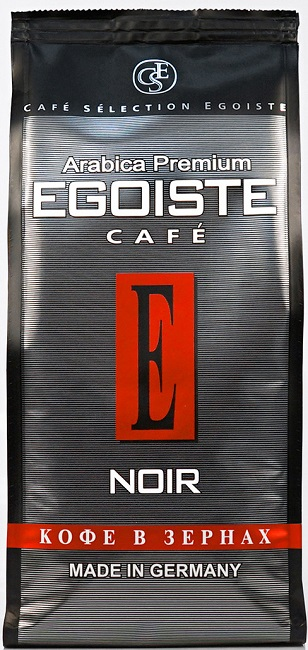 Кофе Эгоист Noir зерновой
