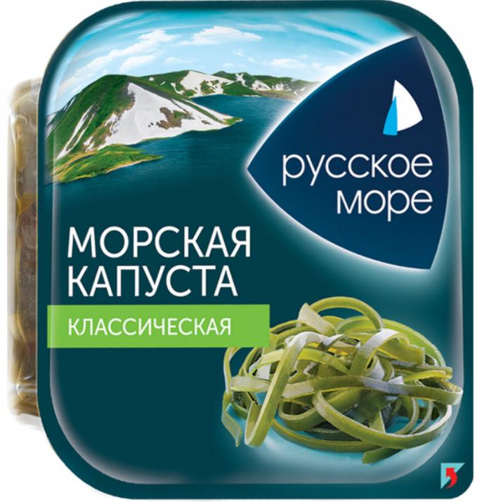 Морская капуста Русское море. Классическая