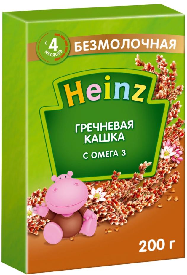 Heinz гречневая с Омега-3