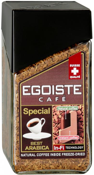 Кофе Эгоист Special растворимый