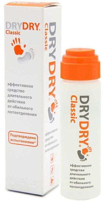 Dry Dry Classic от обильного потоотделения