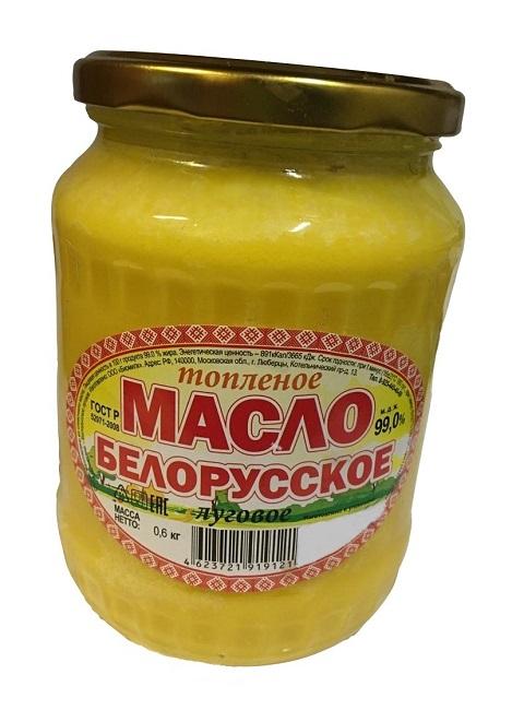 Масло Белорусское Луговое