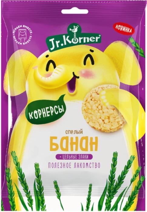 Dr. Korner, мини-хлебцы рисовые с бананом