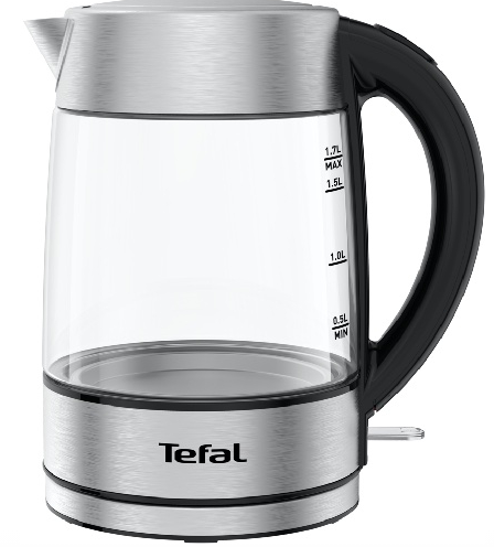 Стеклянный чайник Tefal KI772D32