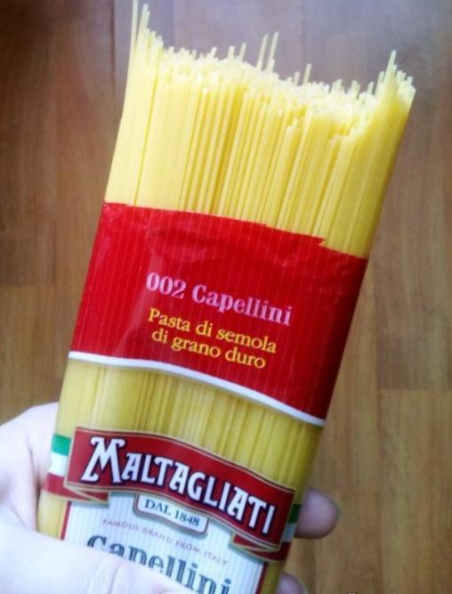 Макарогы Maltagliati №2 Capellini