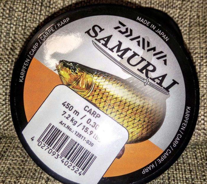 Леска DAIWA SAMURAI Carp