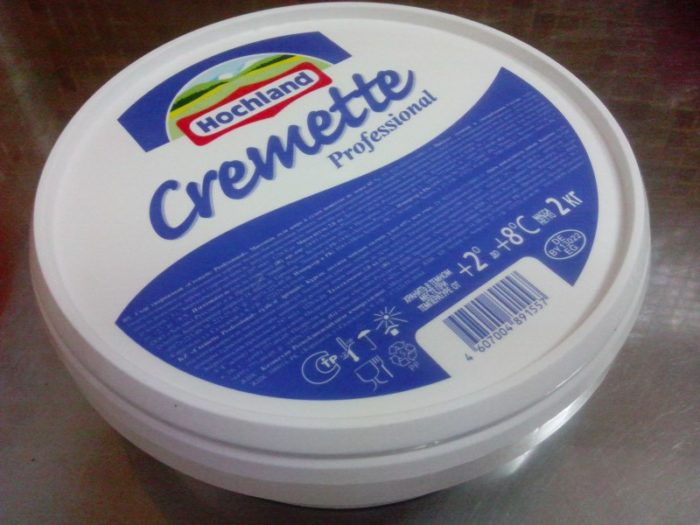 Сливочный сыр Hochland Cremette