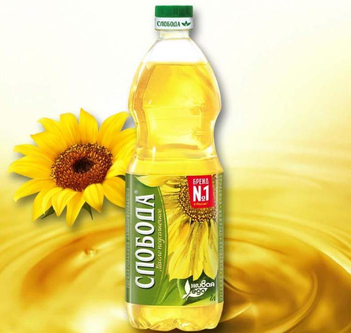 Подсолнечное масло «Слобода»