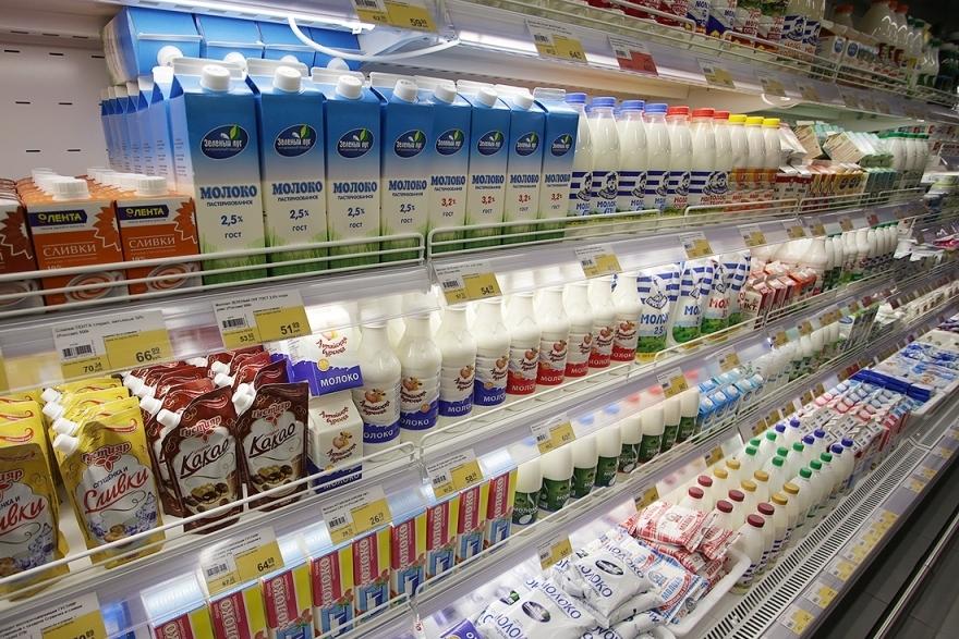 Молоко из магазина