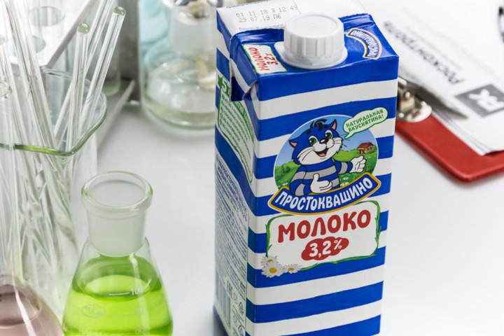Молоко Простоквашино 3,2