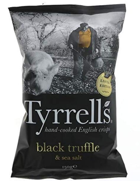 Tyrrells Black Truffle & Sea Salt