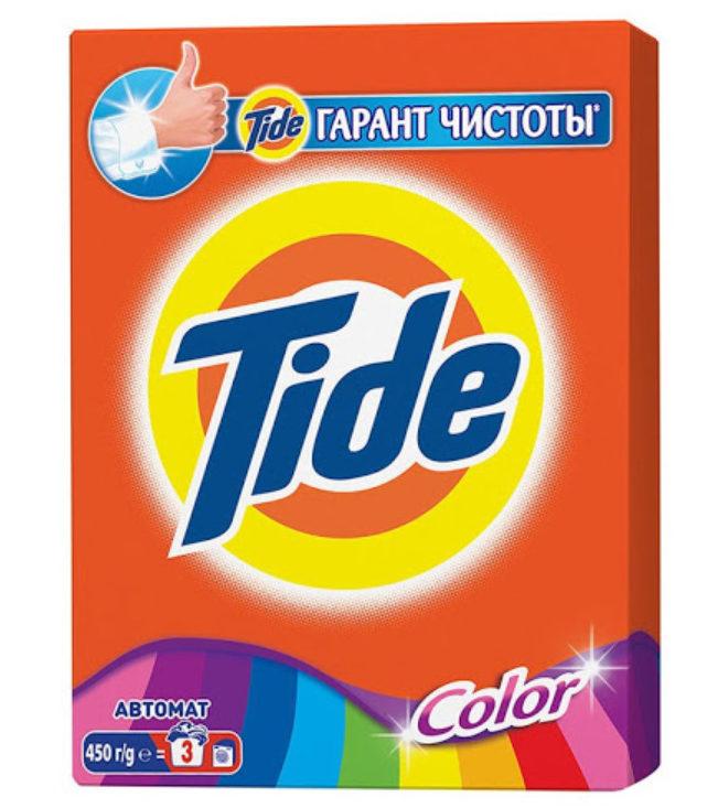 Tide для цветного белья