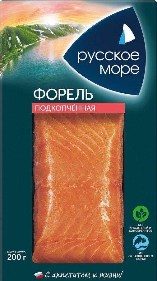 Русское море форель