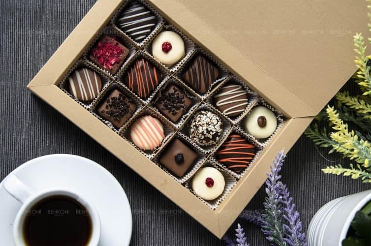 Подарочная коробка конфет