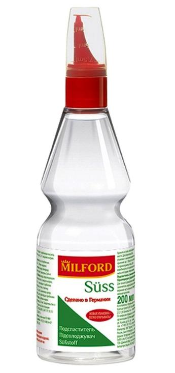 Milford, цикламат и сахарин