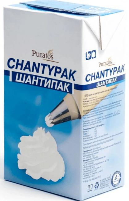 Puratos Шантипак растительные сливки 26%
