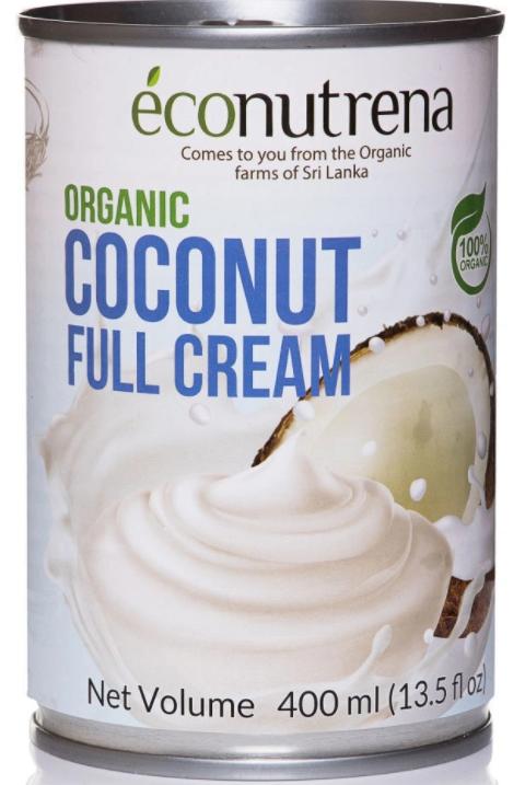 Econutrena кокосовые сливки 30%