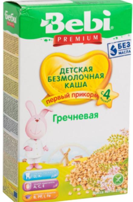 Bebi premium гречневая