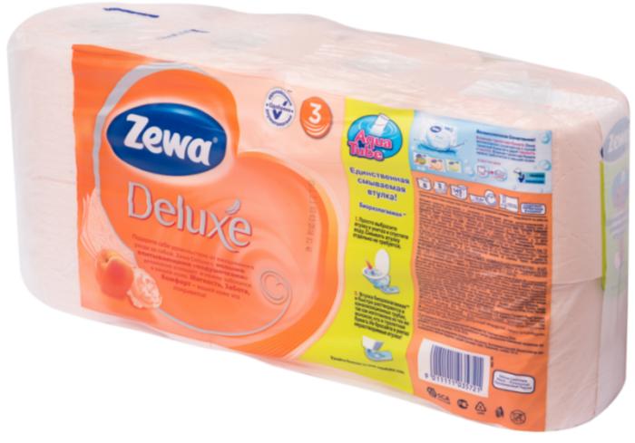 Zewa Deluxe с ароматом персика