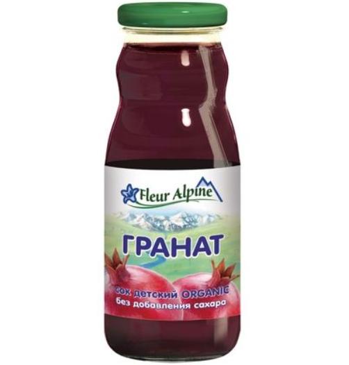 Гранатовый сок Fleur Alpine, детский