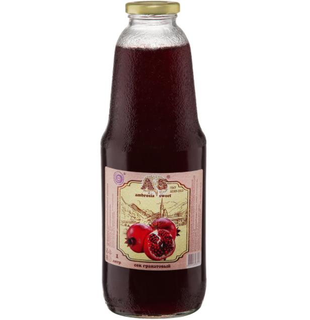 Гранатовый сок Ambrosia Sweet