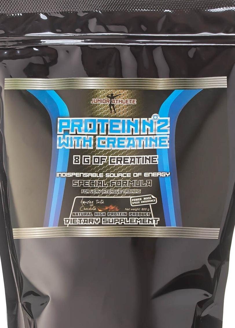 Протеин Юный Атлет №2 Клубника