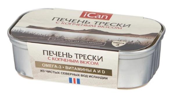 Печень трески ICan