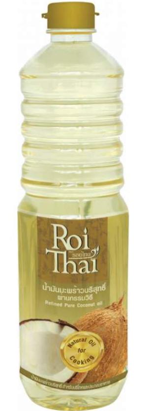 Рафинированное кокосове масло Roi Thai