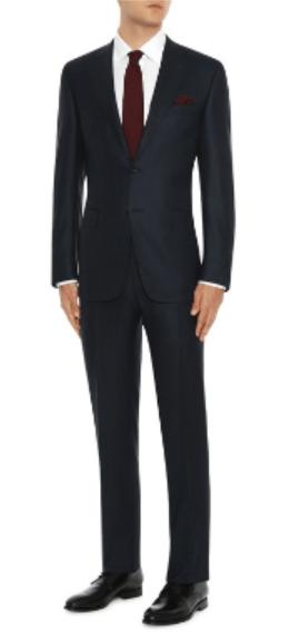 Черный костюм Canali