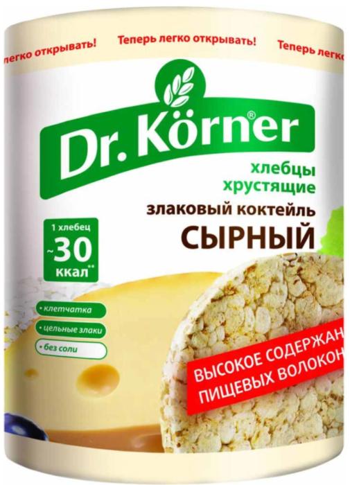 Dr. Korner «Сырный злаковый коктейль»