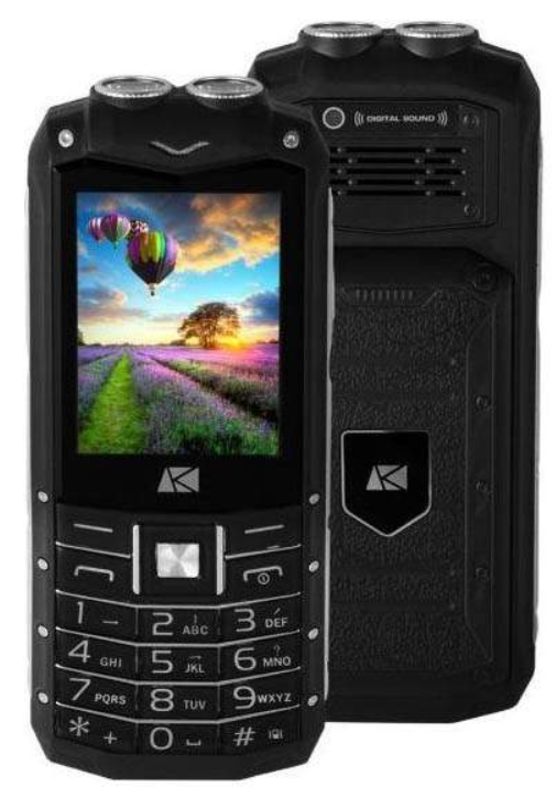 Телефон с кнопками ARK Power F2