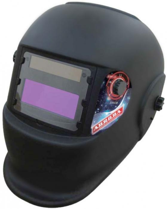 Сварочная маска Aurora A-998F Black Cosmo