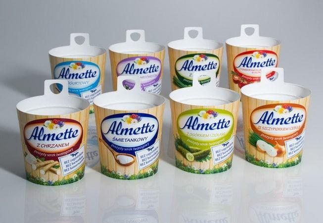 Сливочный сыр Almette