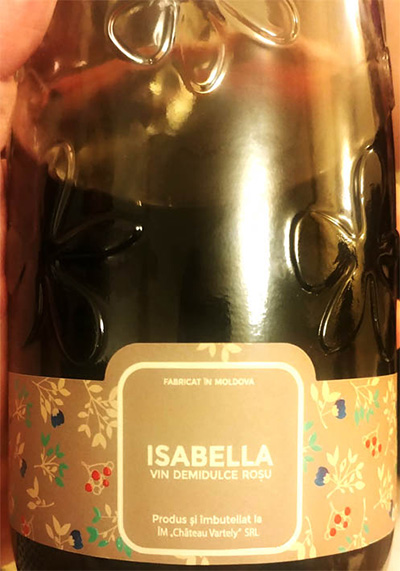 Chateau Vartely, «Isabella» Demidulce в бутылке