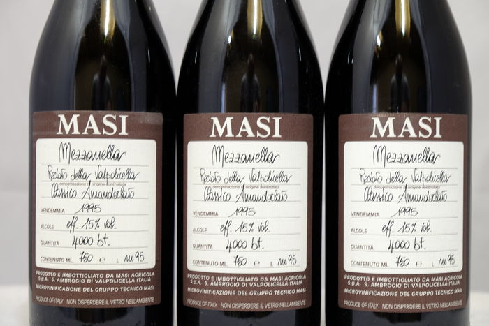 Mezzanella Amandorlato в бутылках