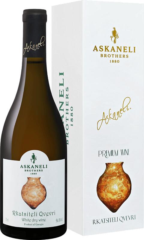 Askaneli Brothers, Rkatsiteli Qvevri в бутылке и коробка