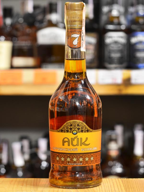 «Айк» в бутылке