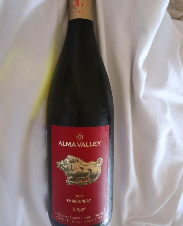 Бутылка Alma Valley