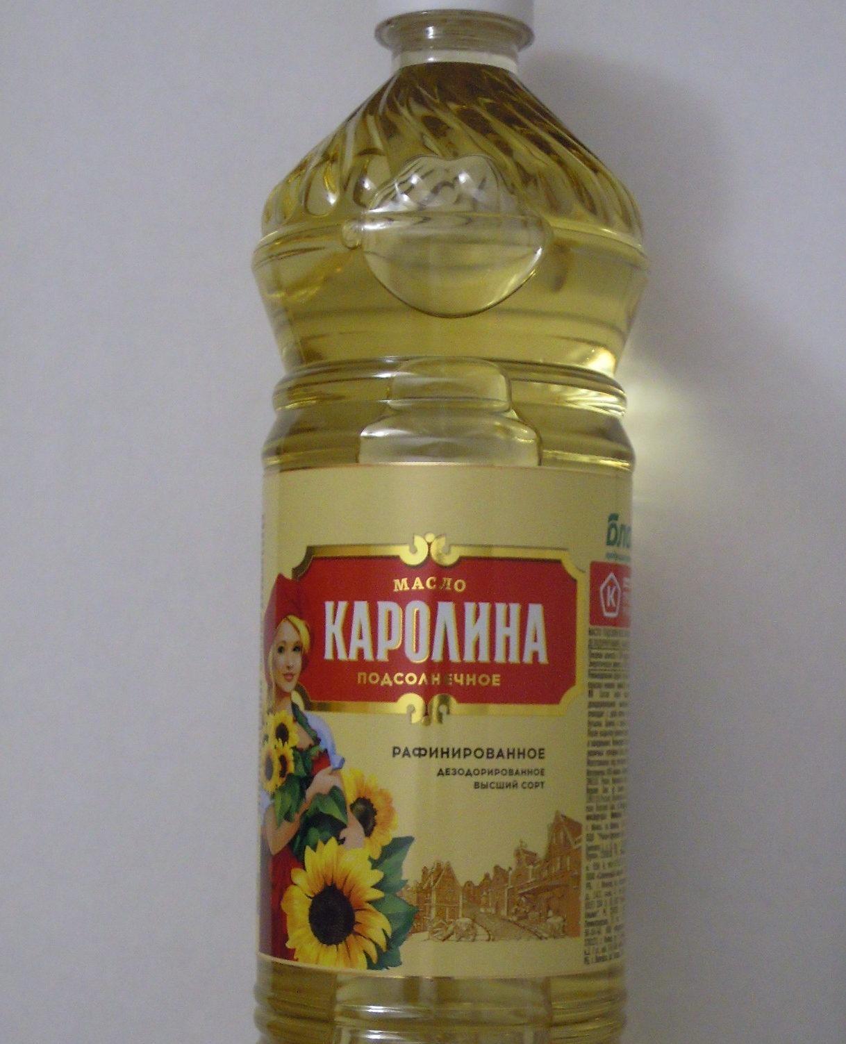 Масло «Каролина» в бутылке